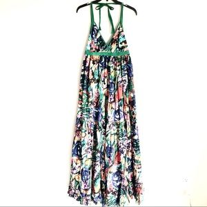 Moda International Halter Maxi Dress